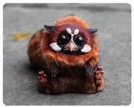 Tiny Griffin Red Panda dark
